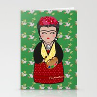 Kokeshi Frida Kahlo Stationery Cards