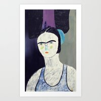 Swimmer #2 Art Print