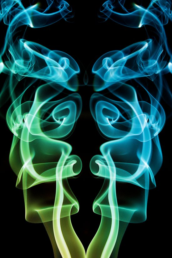 Smoke Photography #8 Art Print
