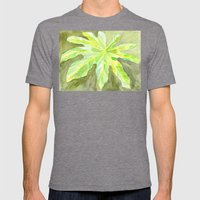 Leaf Mens Fitted Tee Tri-Grey SMALL