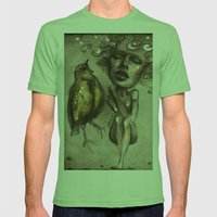 Unheard Mens Fitted Tee Grass SMALL