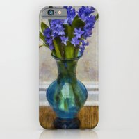 iPhone Cases featuring Hyacinyth Heaven by Ian Mitchell