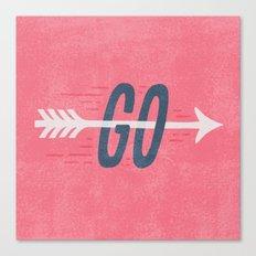 GO Canvas Print