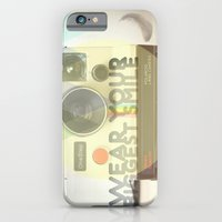 iPhone & iPod Case featuring WEAR YOUR BIGGEST SMILE by La Nomaderie