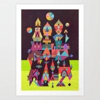 Structura 2 Art Print