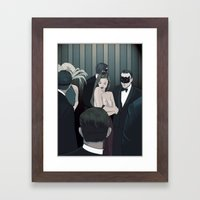 THE CENTERPIECE Framed Art Print