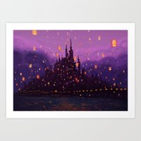 Portrait of a Kingdom: Corona  Art Print
