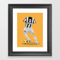 Juventus 2012/13  Framed Art Print