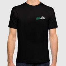 Get Alife Black Mens Fitted Tee SMALL