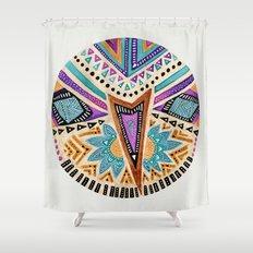 Tribal Folk Icon Shower Curtain