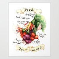 Food Poster Art Print