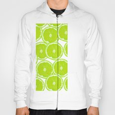Summer Citrus Lime Slices Hoody