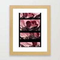 Be Careful. Framed Art Print