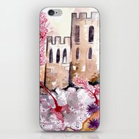 Castle and Coral iPhone & iPod Skin