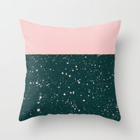 XVI - Rose 1 Throw Pillow