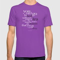 Little Things - One Dire… Mens Fitted Tee Ultraviolet SMALL