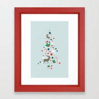 O Christmas Tree Framed Art Print