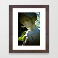 Scarred Angel Framed Art Print