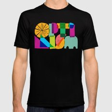 Optimism SMALL Mens Fitted Tee Black