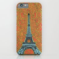 Eiffel Tower Drawing Meditation - Blue/Red/Yellow iPhone 6 Slim Case
