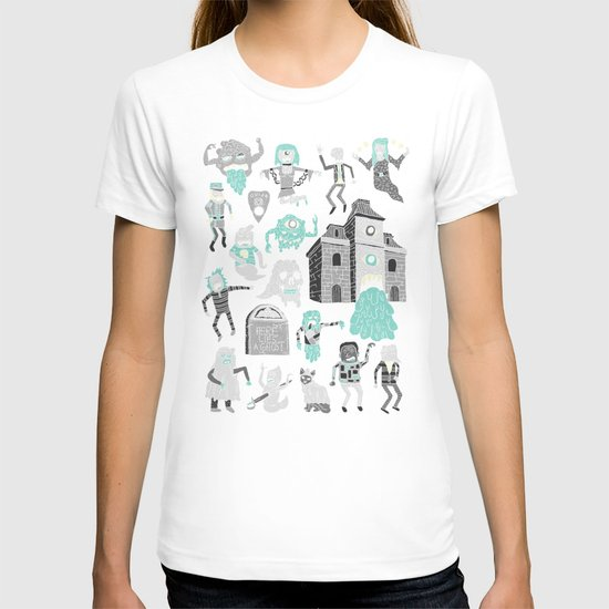 Wow! Ghosts!  T-shirt
