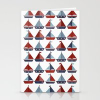 My Little Sail Boat. Stationery Cards