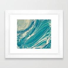 Neptune's Wild Ocean Framed Art Print