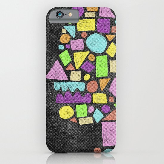 Mosaic Silhouette iPhone & iPod Case