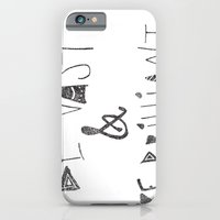 iPhone & iPod Case featuring Be Vast and Brilliant by Jenna Settle