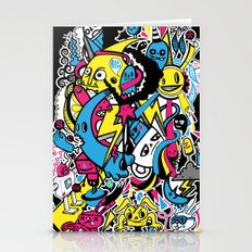 4 Seasons Doodle Stationery Cards