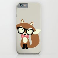 Glasses And Bow Tie Hips… iPhone 6 Slim Case