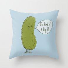 Big Dill Throw Pillow