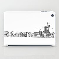 sketchy town iPad Case