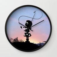 Wonder Kid Wall Clock