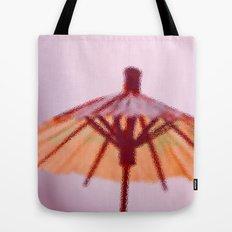 Sunshade behind the Glass Tote Bag