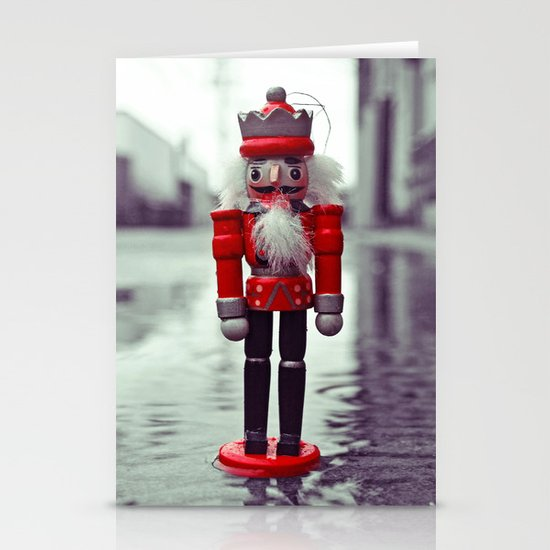 Urban nutcracker Stationery Card