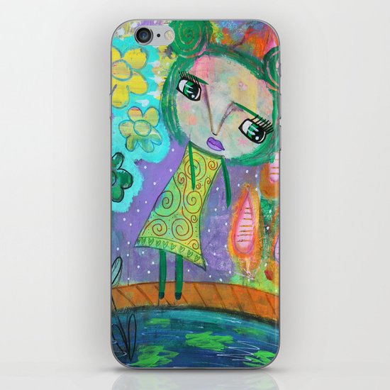 Dreaming of Giverney iPhone & iPod Skin