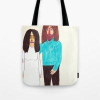 John & Yoko Tote Bag