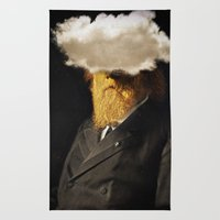 The inability of men with golden faces to be photographed without cloud. Rug