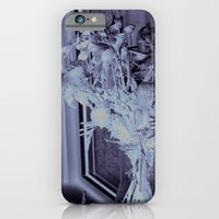 iPhone & iPod Case featuring A lone vase full of withered flowers by Elise Tyv