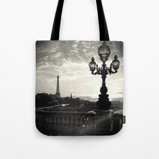 Mysterious Paris Tote Bag