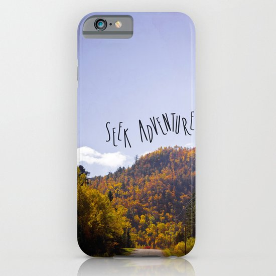 seek adventure iPhone & iPod Case