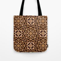 Leopard Fur Abstract Kal… Tote Bag
