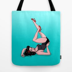 Pin Up Retro Tote Bag