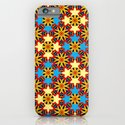 Cute Colourful Floral Patterns iPhone & iPod Case