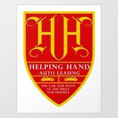 HH Crest Art Print