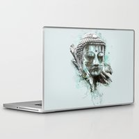 buddha Laptop & iPad Skins featuring Buddha by Kevin Roodhorst
