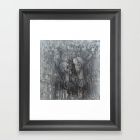 You Smiled Softly, Our L… Framed Art Print