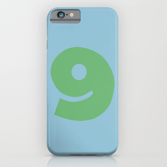 Number 9 iPhone & iPod Case