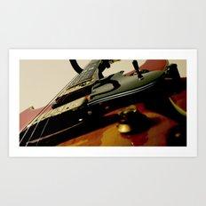 Guitar! Art Print
